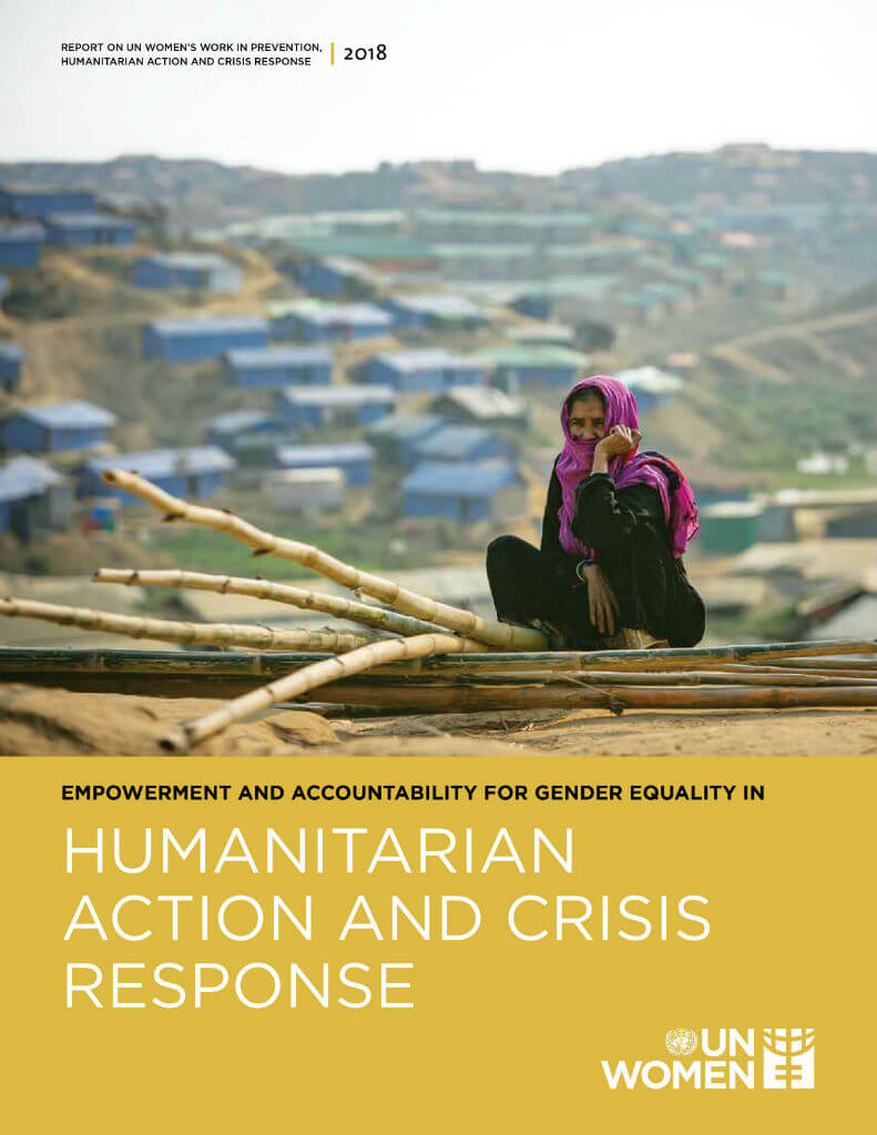 Empowerment and accountability for gender equality in humanitarian action and crisis response 2018