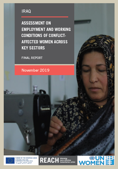 Iraq: Assessment on Employment and Working Conditions of Conflict-affected Women Across Key Sectors