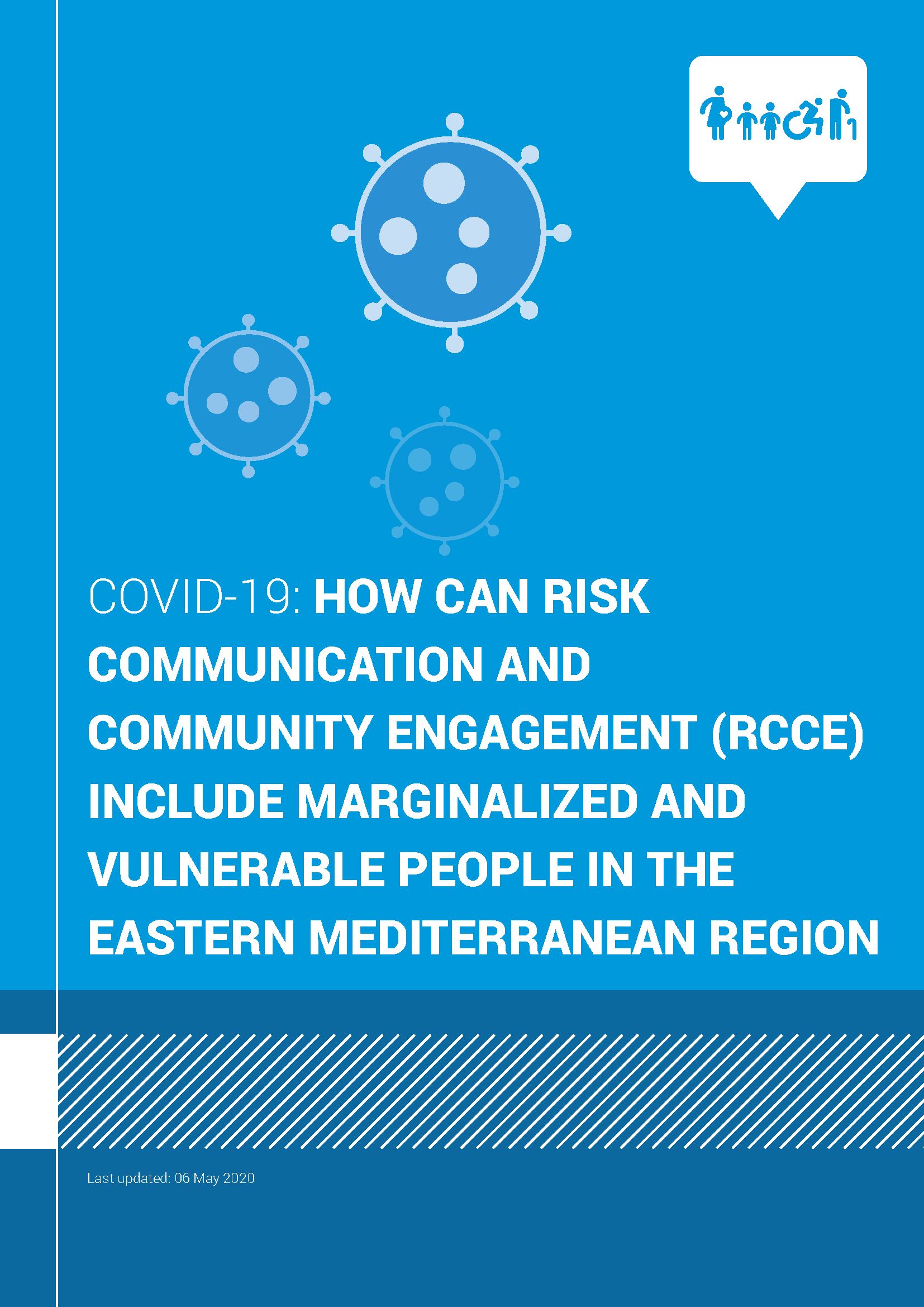How Can Risk Communication and Community Engagement (RCCE) include marginalized and vulnerable people in the Eastern Mediterranean Region