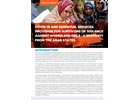 COVID-19 and Essential Services Provision for Survivors of Violence Against Women and Girls - A Snapshot from the Arab States