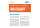 Impact of COVID-19 on Violence against Women and Girls in the Arab States through the Lens of Women's Civil Society Organizations