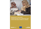 Enhancing livelihood opportunities for Jordanian and Syrian refugee women