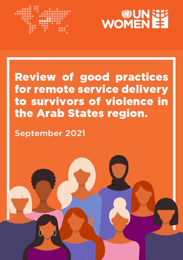 Review of good practices for remote service delivery to survivors of violence in the Arab States region