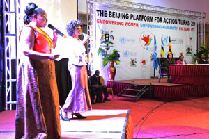 Spotlighting women rights, Beijing+20 campaign launched in Uganda