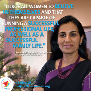 "Chanda Kochhar – ""The sky's the limit"""