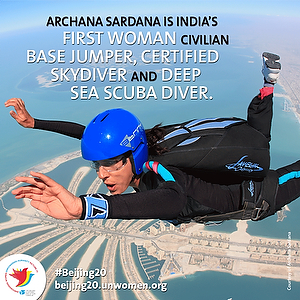 Scaling new horizons with daring dives
