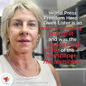 Wielding the pen for independence, and independent journalism