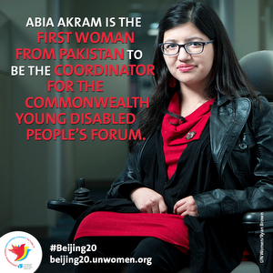 Leading the way for women and girls with disabilities