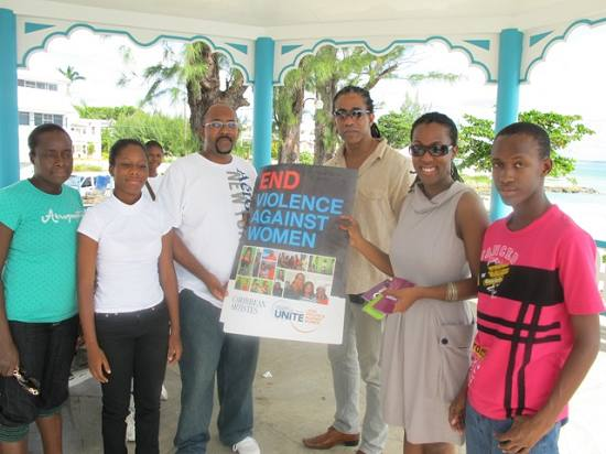 UNIFEM and the youth of Grantley Adams Secondary School of Barbados