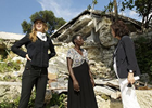UNIFEM Goodwill Ambassador Nicole Kidman And Executive Director Inés Alberdi In Haiti Stress Women's Equality As Central For Recovery