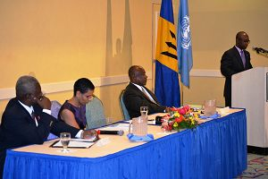 Barbados Parliamentarians Launch Community Dialogues on HIV