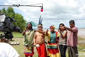 First Nations Caribbean Artists Say No to Gender Based Violence