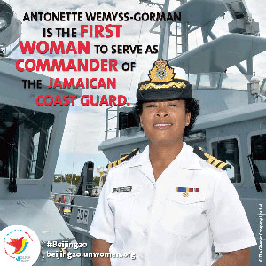 Women of Achievement - First JDF Female Commander