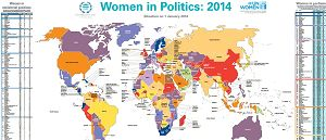 Progress for women in politics but glass ceiling remains firm