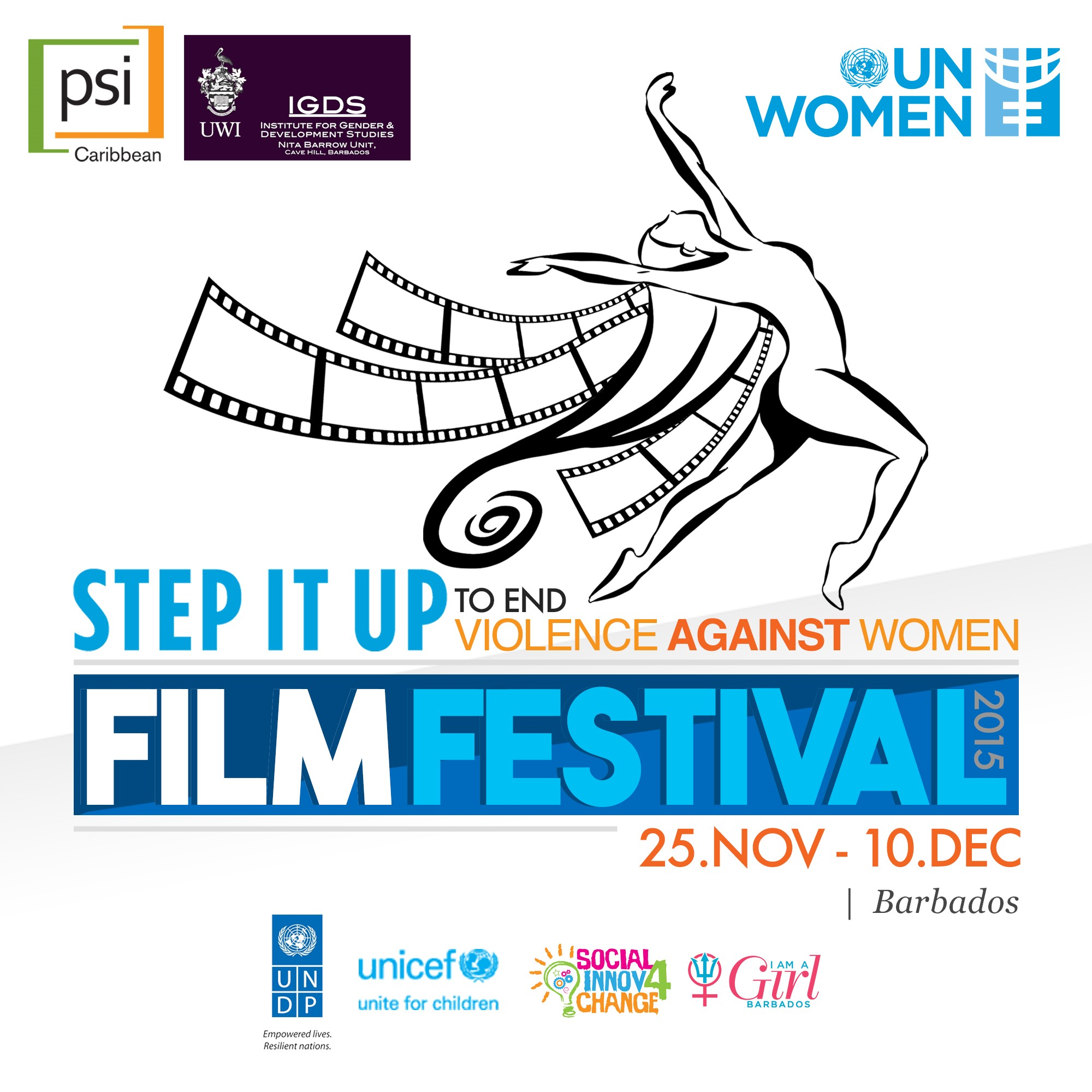 Step it Up to End Violence against Women and Girls Barbados Film Festival