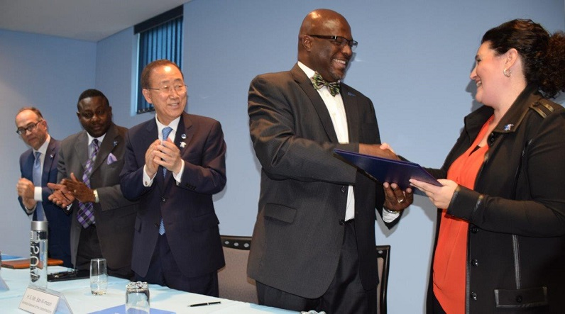 Signing of a MOU between UN Women and the Government of Barbados/Office of the Attorney General