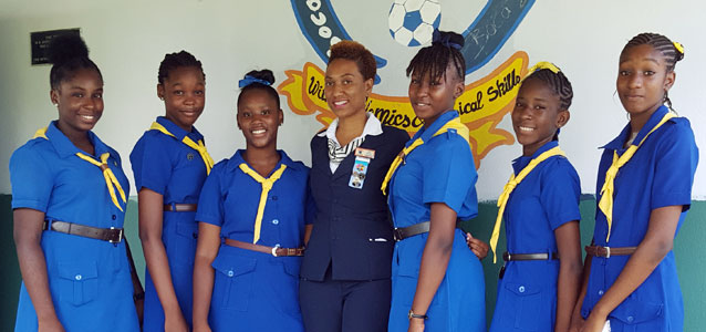 """Education is power"" – Girl Guide teacher/trainer"