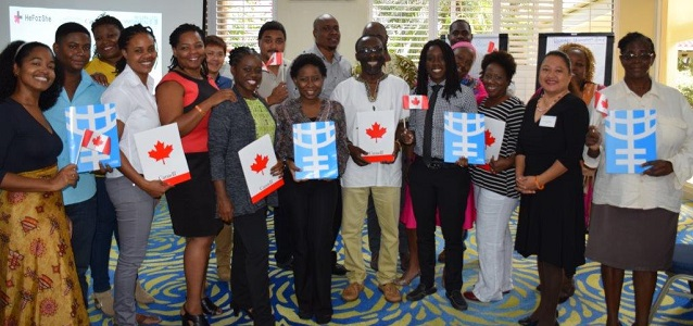 UN Women Gender Advocates Training funded by the Canada Fund for Local Initiatives