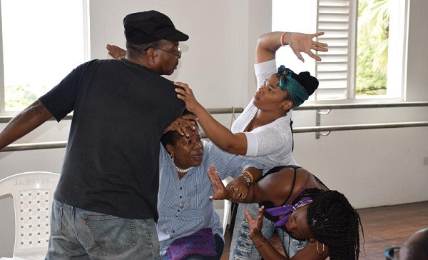 Applied arts practitioners training in using theatre arts to address GBV