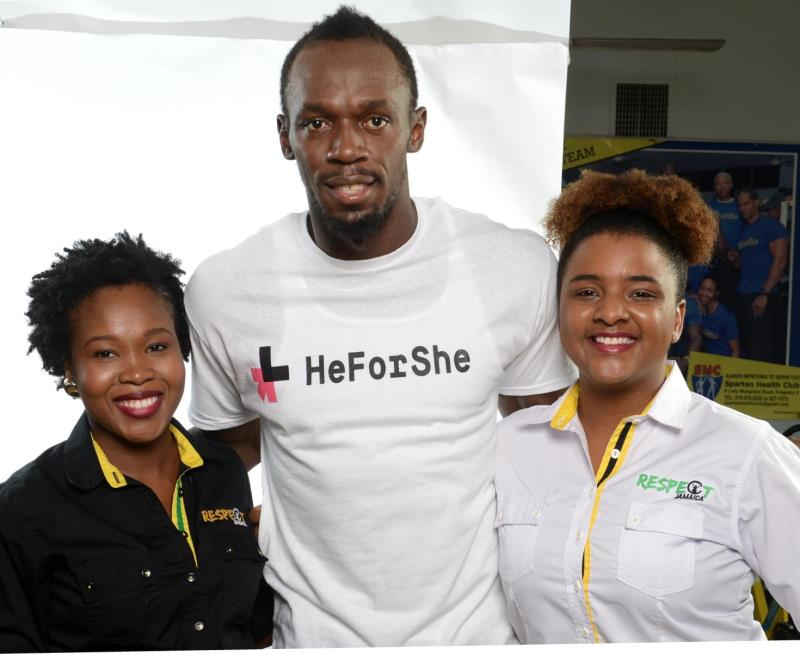 The Fastest Man in the World is HeForShe