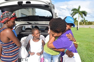Dignity Kits distribution begins for Barbuda women and girls