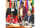 UN Women and CARICOM sign MOU to advance Gender Equality in the Caribbean