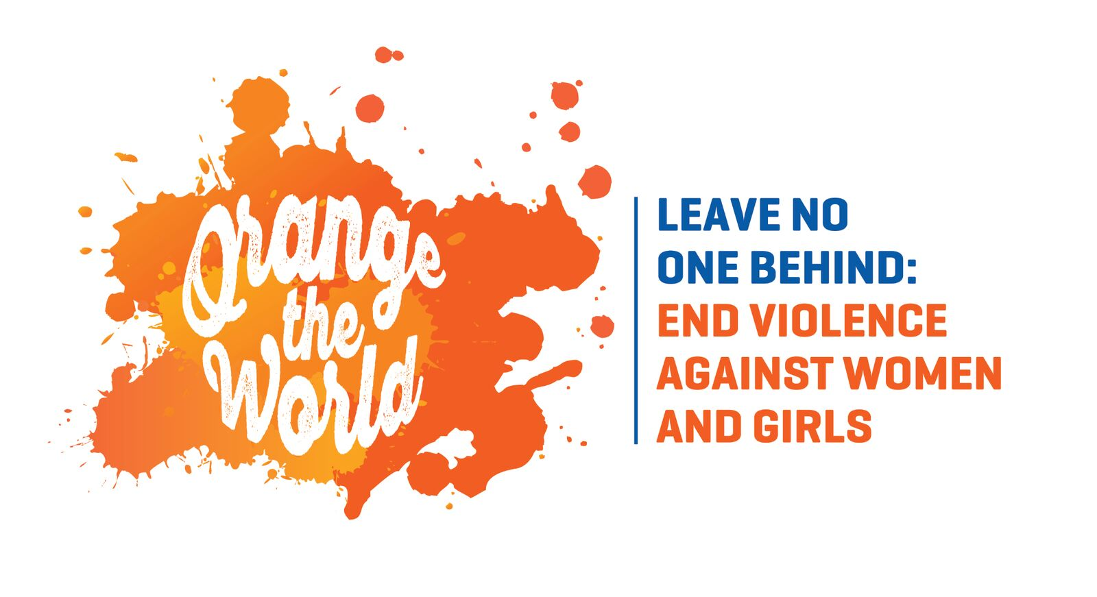 Orange the World in support of the 16 Days of Activism against Gender-Based Violence