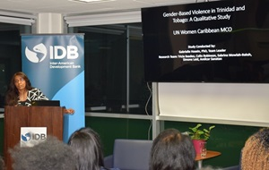 First Caribbean Prevalence Survey on Gender-Based Violence Launched in Trinidad and Tobago