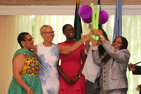 Win-Win: Gender Equality means Good Business programme launched in Jamaica