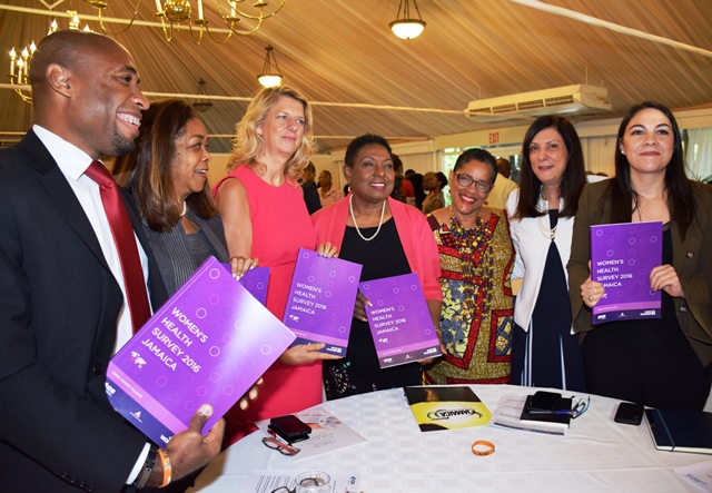 Womens Health Survey 2016 Jamaica launch