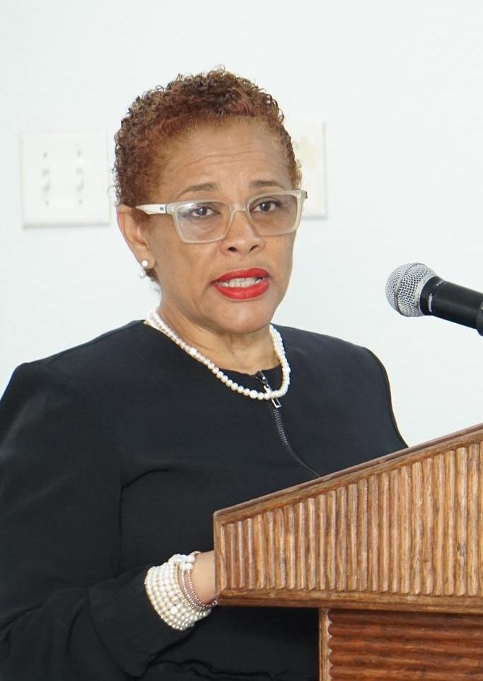 Representative, UN Women Multi-Country-Office Caribbean, Ms. Alison McLean