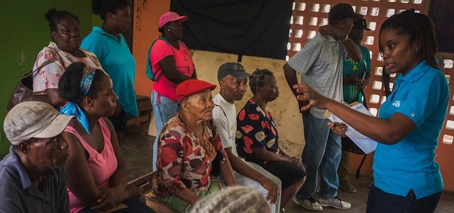 Climate Change Success Dominican Farmers Post Hurricane