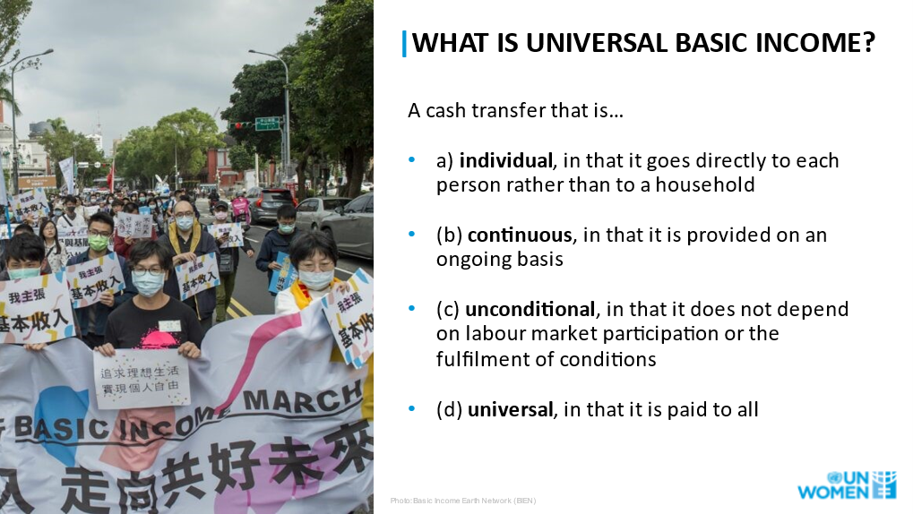 what is ubi?