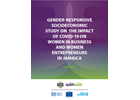 Gender-Responsive Socioeconomic Study on the Impact of COVID-19 on Women in Business and Women Entrepreneurs in Jamaica