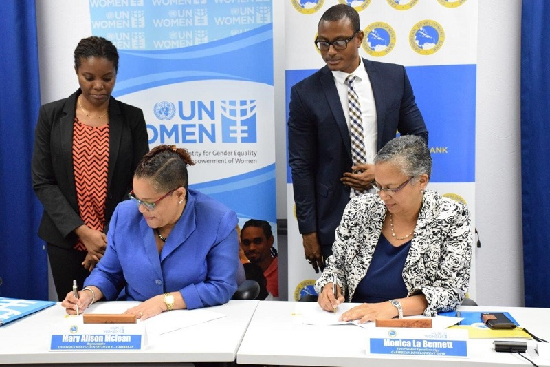 CDB and UN Women partner to support data collection on Gender based Violence in the Caribbean