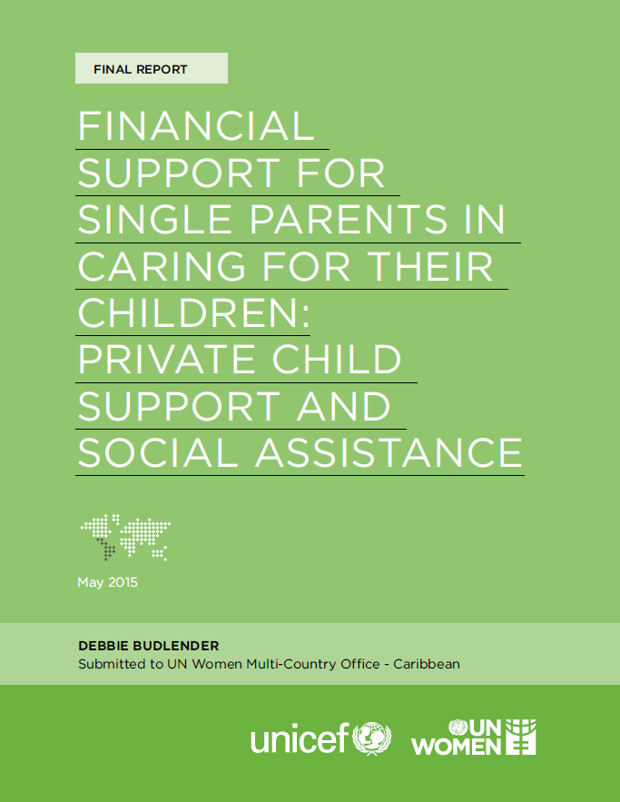 Financial Support For Single Parents In Caring For Their Children: Private Child Support And Social Assistance