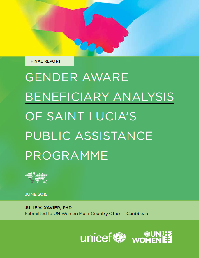 Gender Aware Beneficiary Analysis Of Saint Lucia's Public Assistance Programme