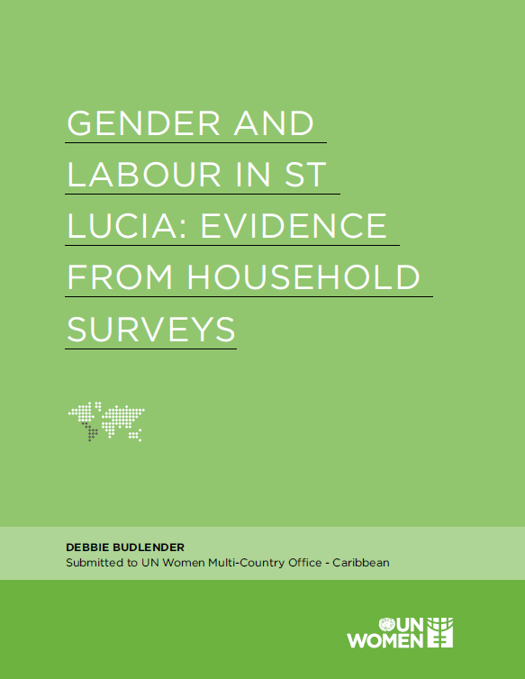 Gender And Labour In St Lucia: Evidence From Household Surveys (Full Report)