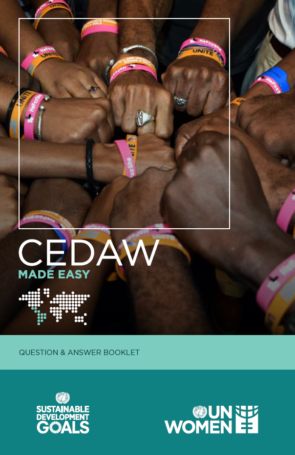 CEDAW Made Easy - Question and Answer Booklet