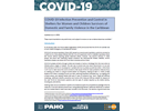 COVID-19 Infection Prevention and Control in Shelters for Women and Children Survivors of Domestic and Family Violence in the Caribbean, 4 June 2020