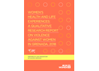 Women's Health and Life Experiences: A Qualitative Research Report on Violence Against Women in Grenada, 2018
