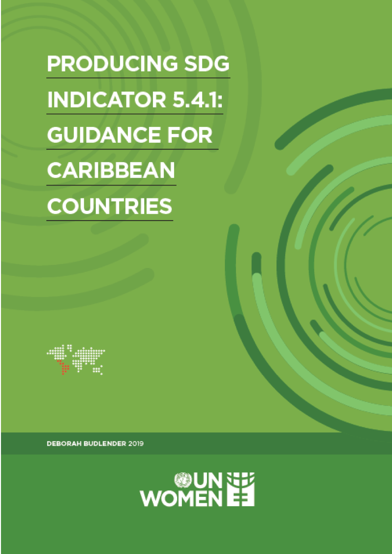 Producing SDG Indicator 541 Guidance for Caribbean Countries