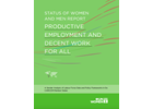 Status of Women and Men Report: Productive Employment and Decent Work for All