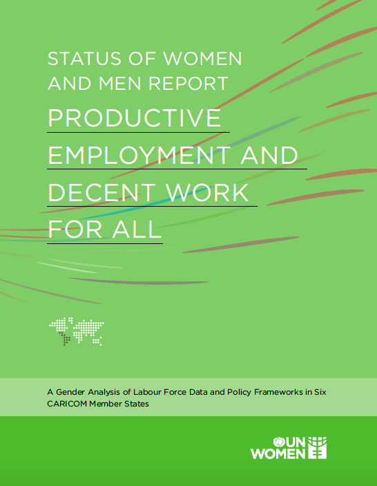 Status: of Women and Men Report 2019 Cover