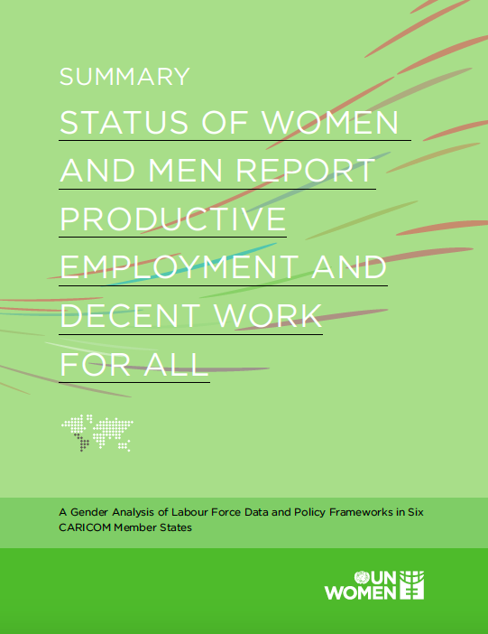 Summary: Status of Women and Men Report 2019 Cover