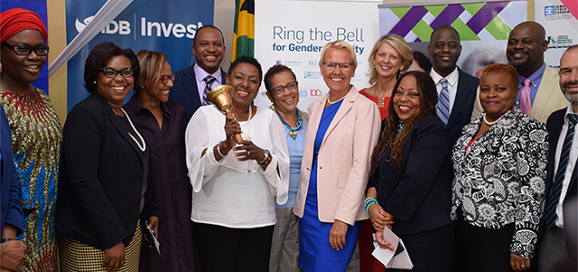 Ring the Bell for Gender Equality – IWD 2019