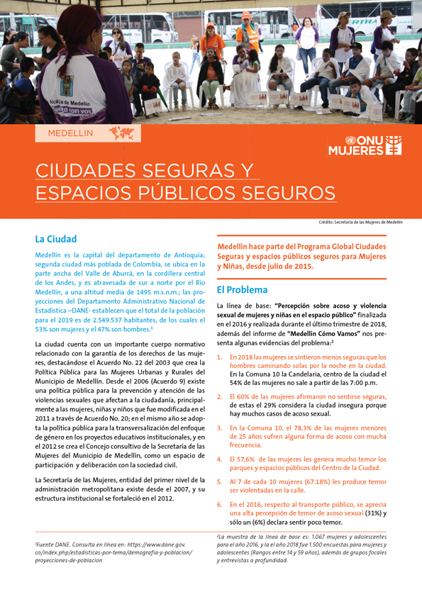 Fact Sheet Medellin