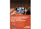 Research on media reporting on gender-based violence against women in Bosnia and Herzegovina in 2020