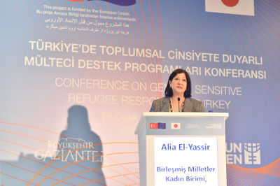 Alia El-Yassir, UN Women Regional Director for Europe and Central and Representative to Turkey