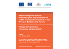 Regional Forum for the Promotion of the Istanbul Convention in the Western Balkans and Turkey